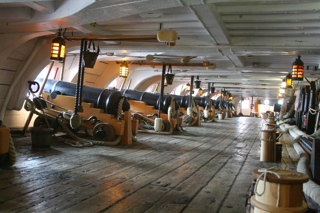 Nelson's 32-pounder ship smashers - dawlish chronicles